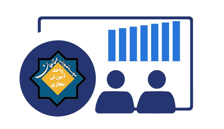 نمایش اینترنت مصرفی، وضعیت اتصال به سرور در کلاسهای وبینار صفاهان